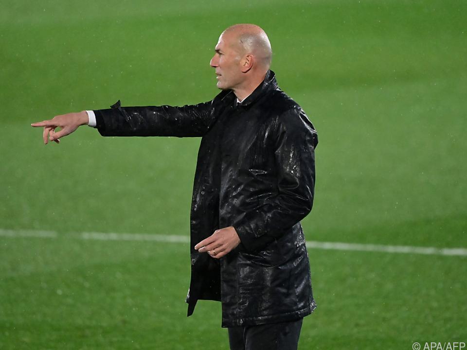Real-Trainer Zidane will seinem Team den Weg zum Titel weisen