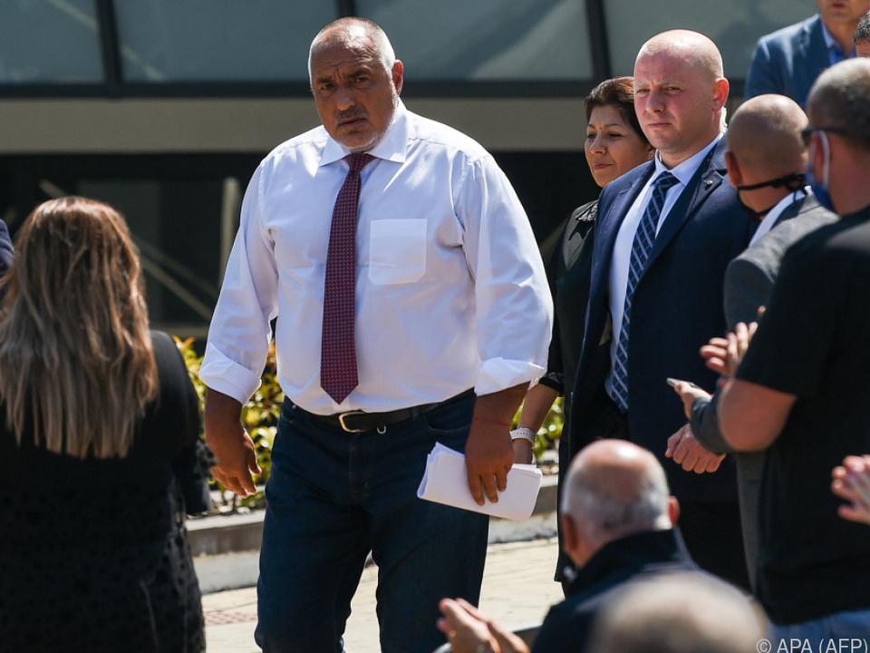 Regierungschef Borissow wurde trotz herber Verluste Erster