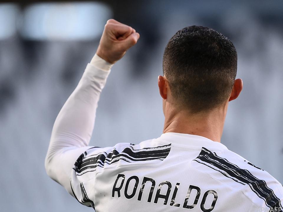 Ronaldo feiert sein 773. Tor
