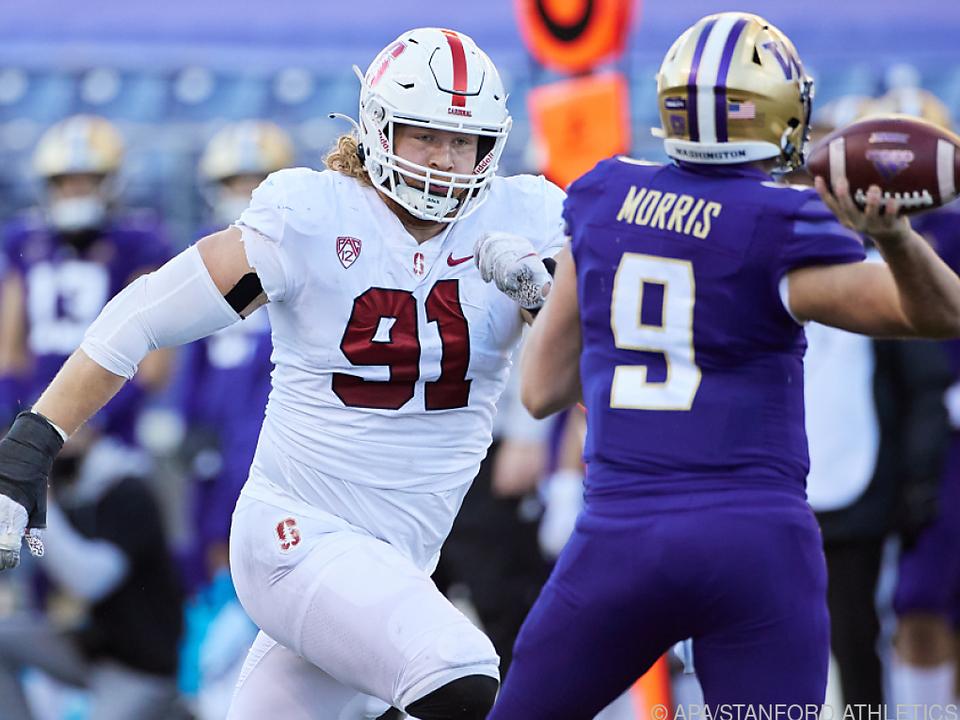Schaffer ging vier Jahre für Stanford auf Quarterback-Jagd