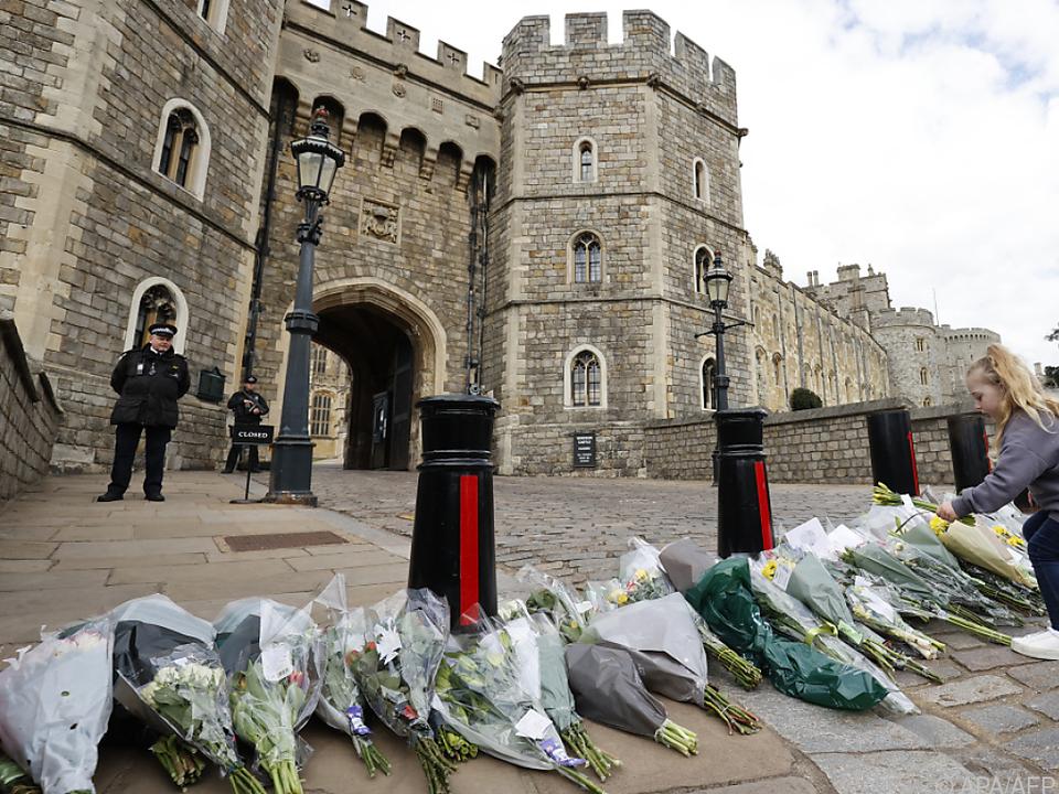 Schloss Windsor soll die letzte Ruhestätte von Prinz Philip werden