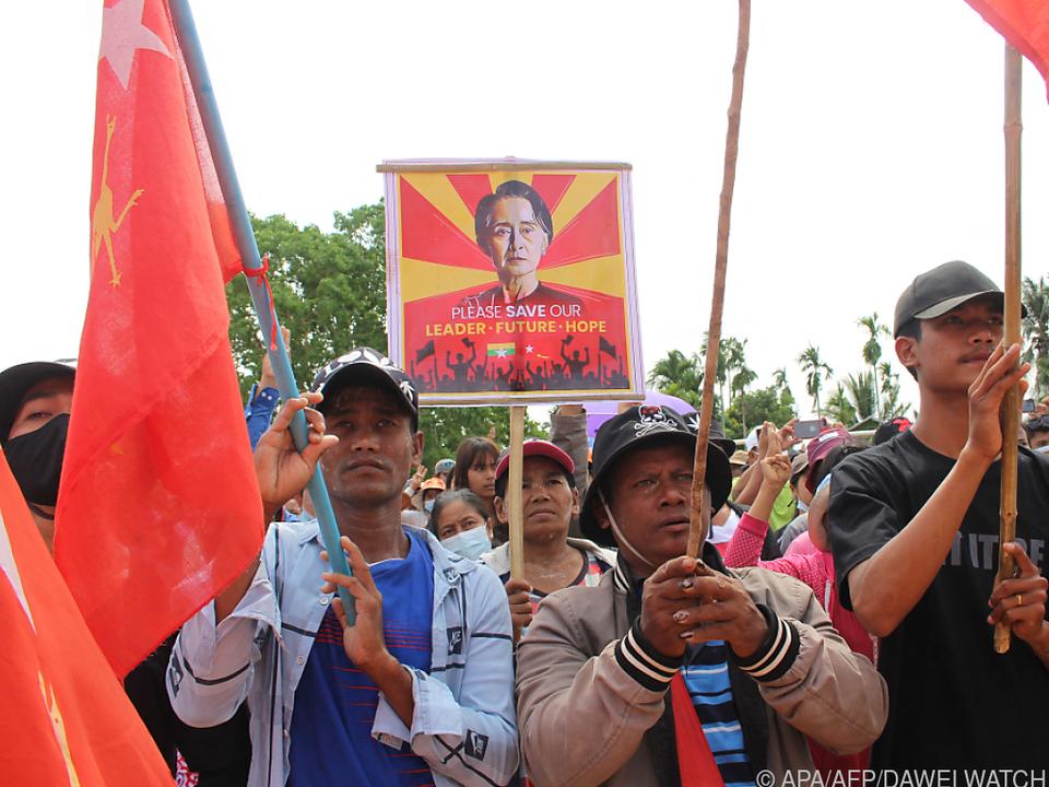 Seit über zwei Monaten wird gegen den Militärputsch protestiert