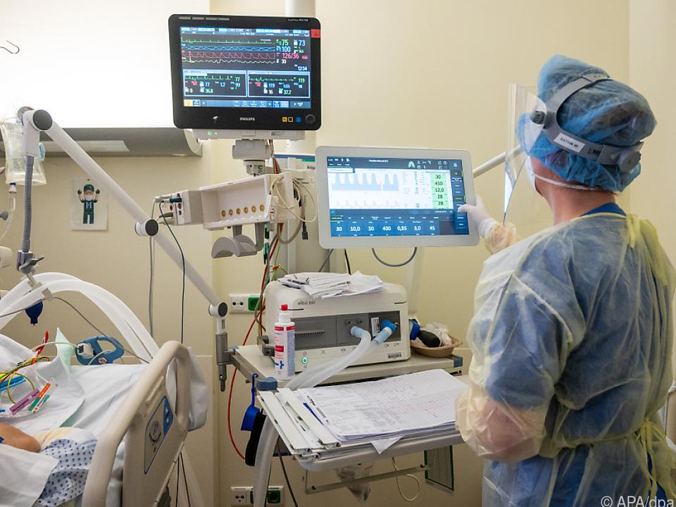 So viele Schwerkranke im Spital gab es zuletzt im Dezember