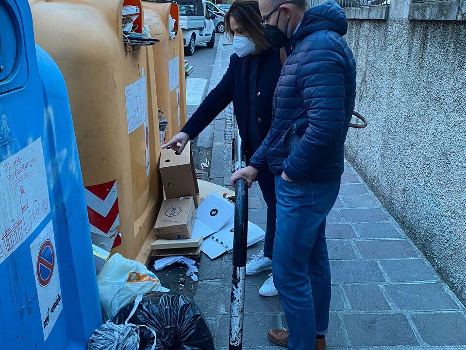 Sopralluogo Chiara Rabini e Kilian Bedin