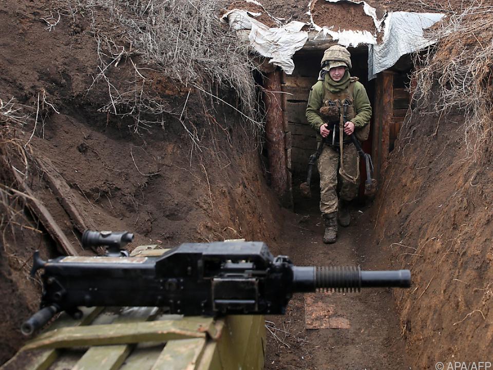 Spannungen in der Ostukraine verschärften sich zuletzt