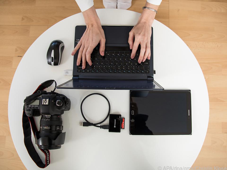 Bei Stockfotos kann es sinnvoll sein, Raum für eventuelle Überschriften zu lassen