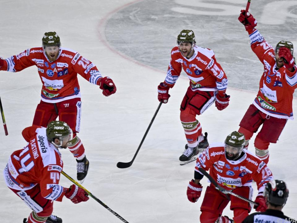 Südtirol feierte mit Sieg in Wien den Finaleinzug