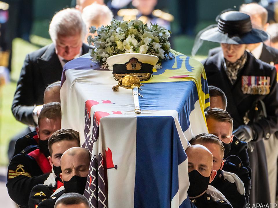 Trauerfeier auf Schloss Windsor
