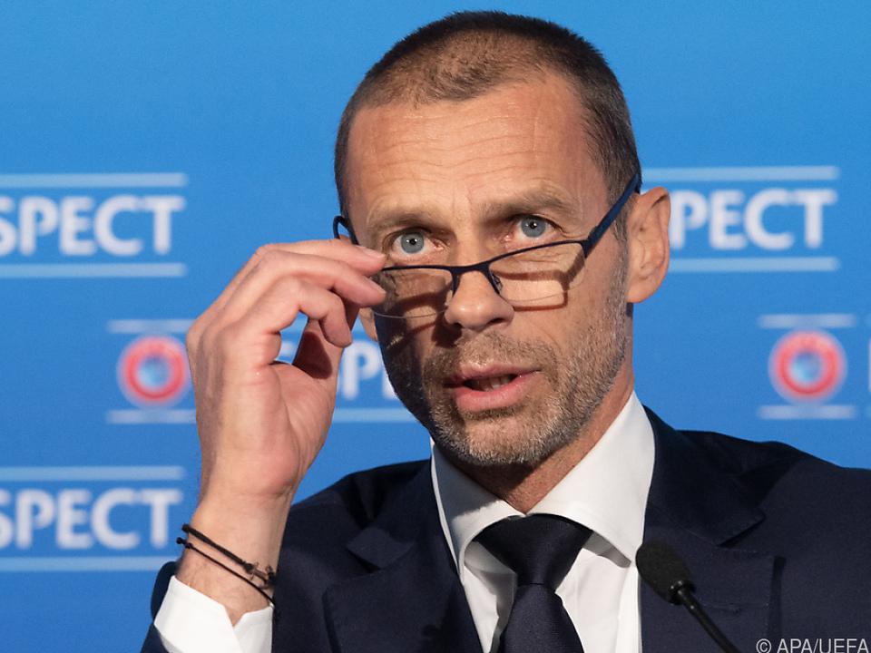 UEFA-Boss Ceferin droht verbliebenen Super-League-Clubs
