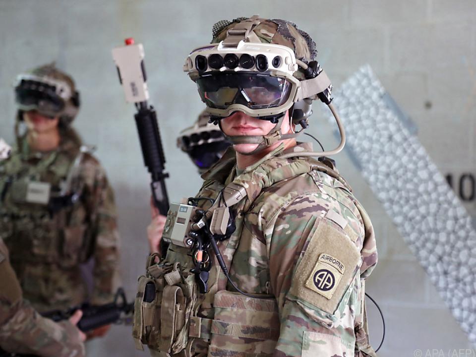 US-Armee setzt auf Hightech