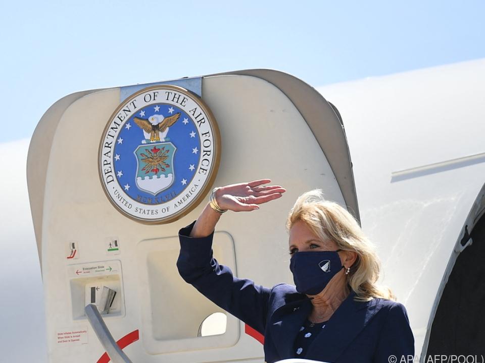 US-First Lady erlaubte sich einen kleinen Aprilscherz
