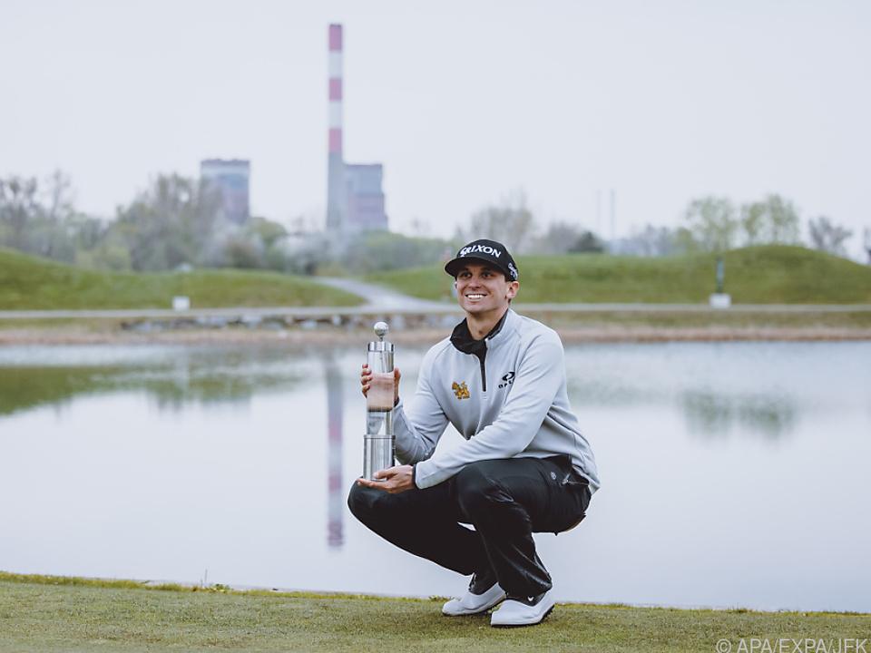 US-Profi John Catlin gewann Austrian Golf Open 2021