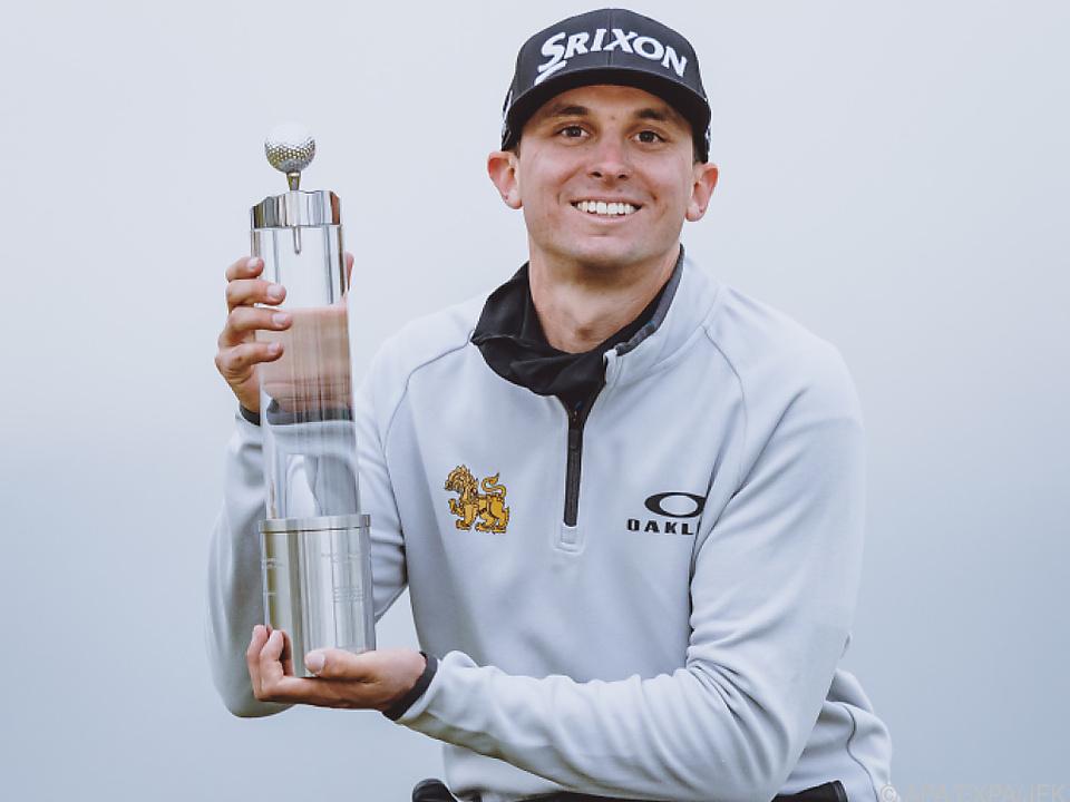 John Catlin (USA) ist der Sieger der Austrian Golf Open 2021