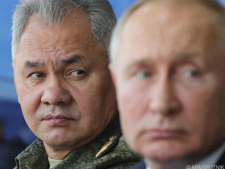 Verteidigungsminister Schoigu besuchte die Krim