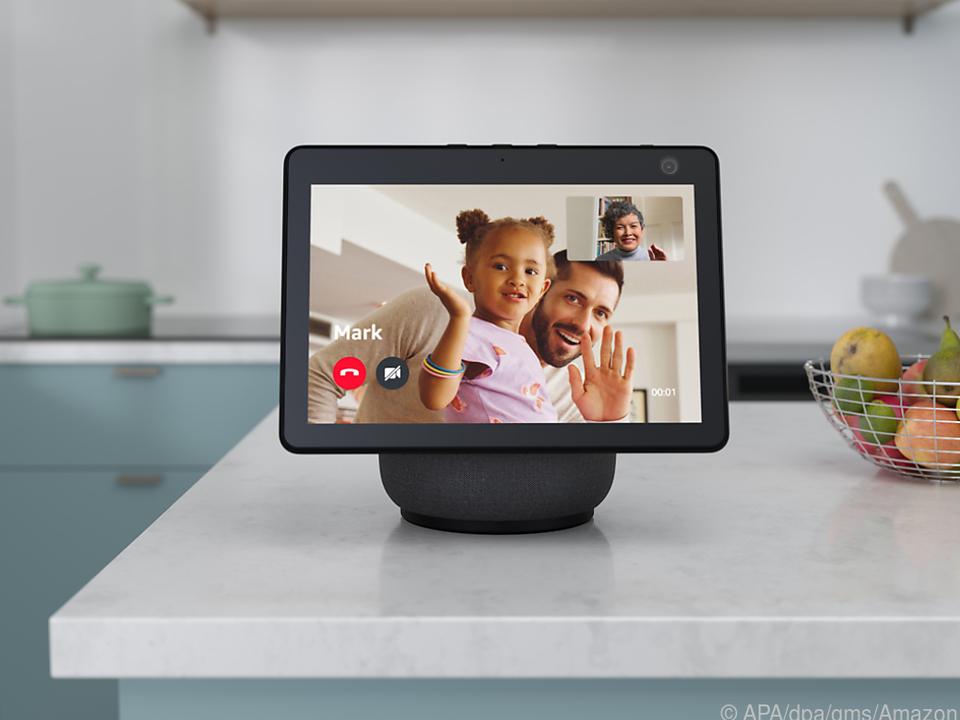 Videotelefonate, Rezepte, Wetter: Mit dem Echo Show 10 will Amazon in die Haushalte