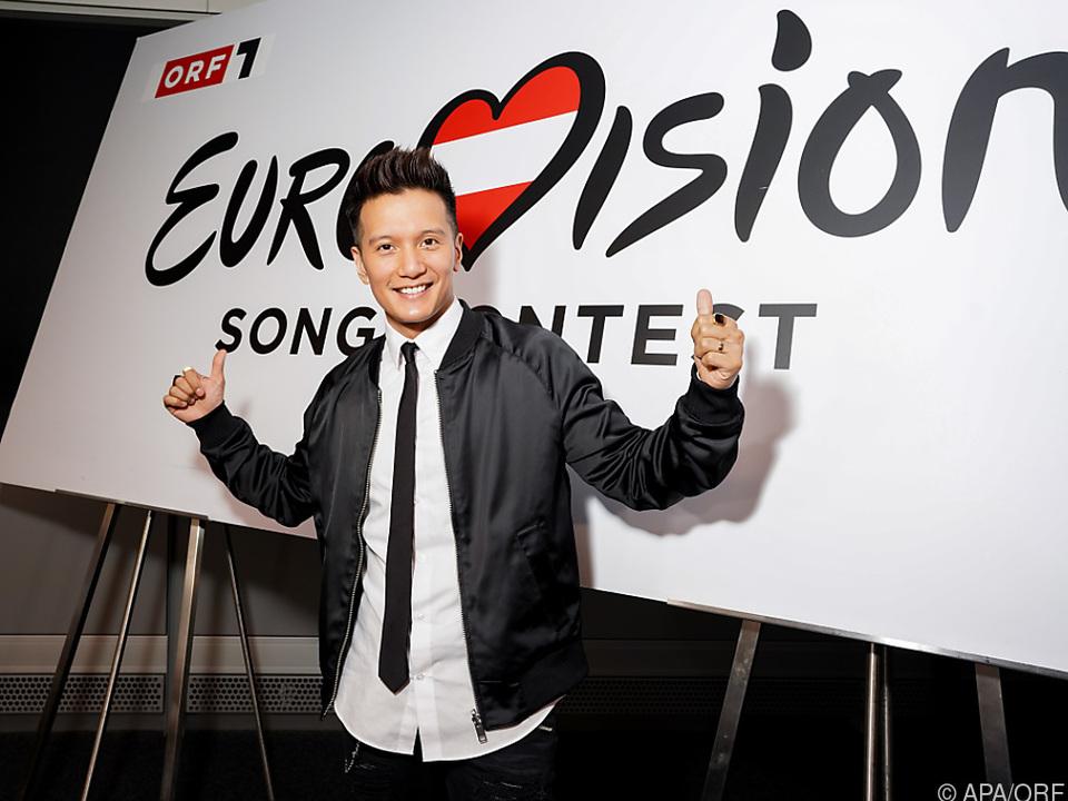 Vincent Bueno singt für Österreich beim ESC