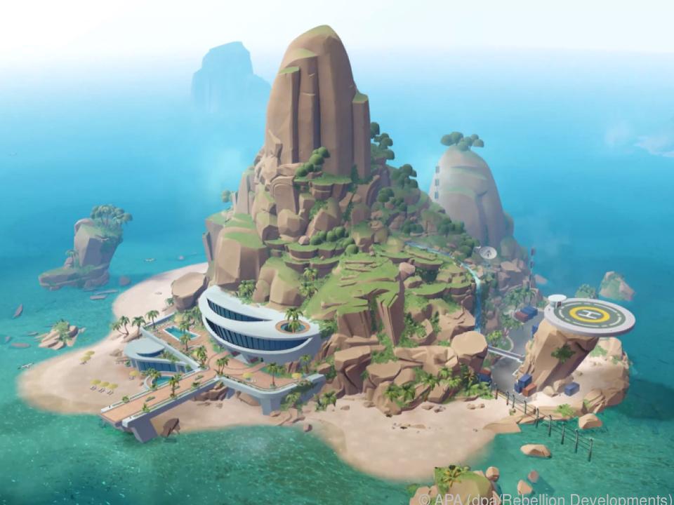 Wer würde nicht gerne als Schurke in so einem tollen Inselversteck leben?