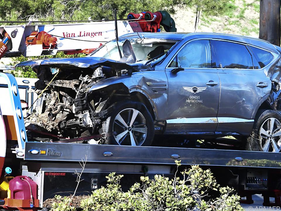 Woods war bei seinem Unfall offenbar viel zu schnell