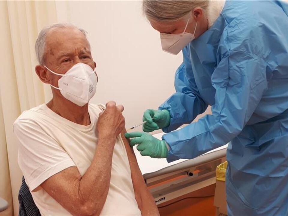 Corona Impfung senioren