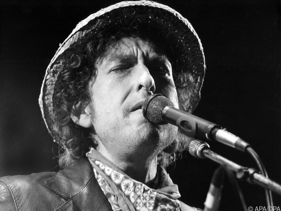 80 und kein bisschen leise: Bob Dylan (hier 1984)