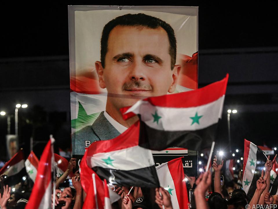 Abgestimmt wurde nur in den von Assad kontrollierten Teilen Syriens