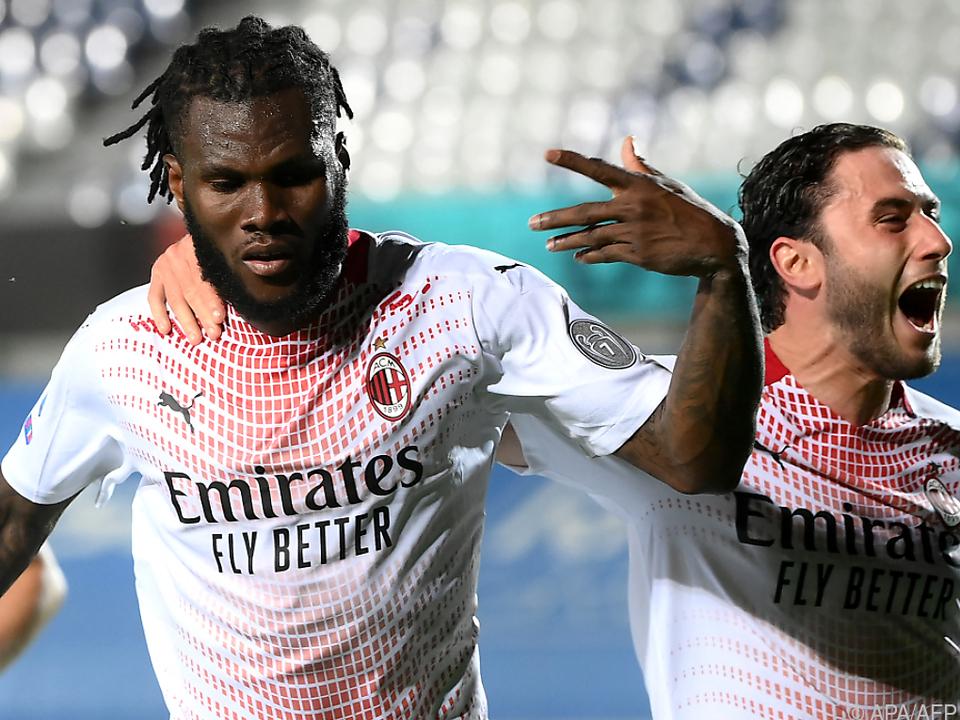 AC Milan entschied das \