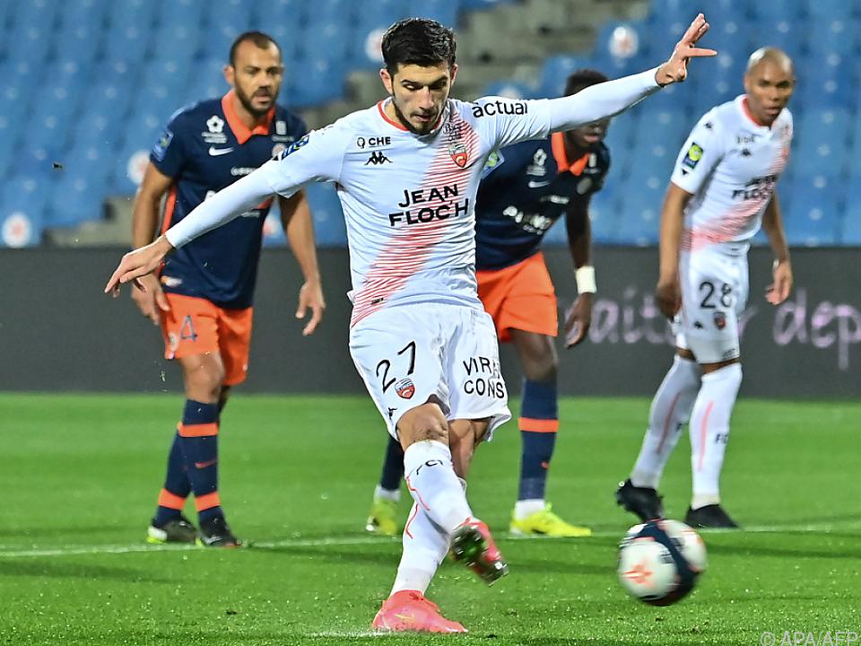 Adrian Grbic erlebte bei Lorient eine Saison zum Vergessen