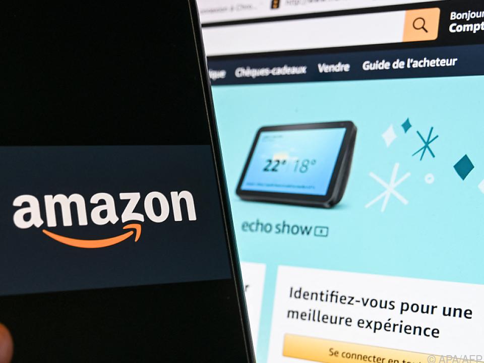 Amazon - hier die französische Seite
