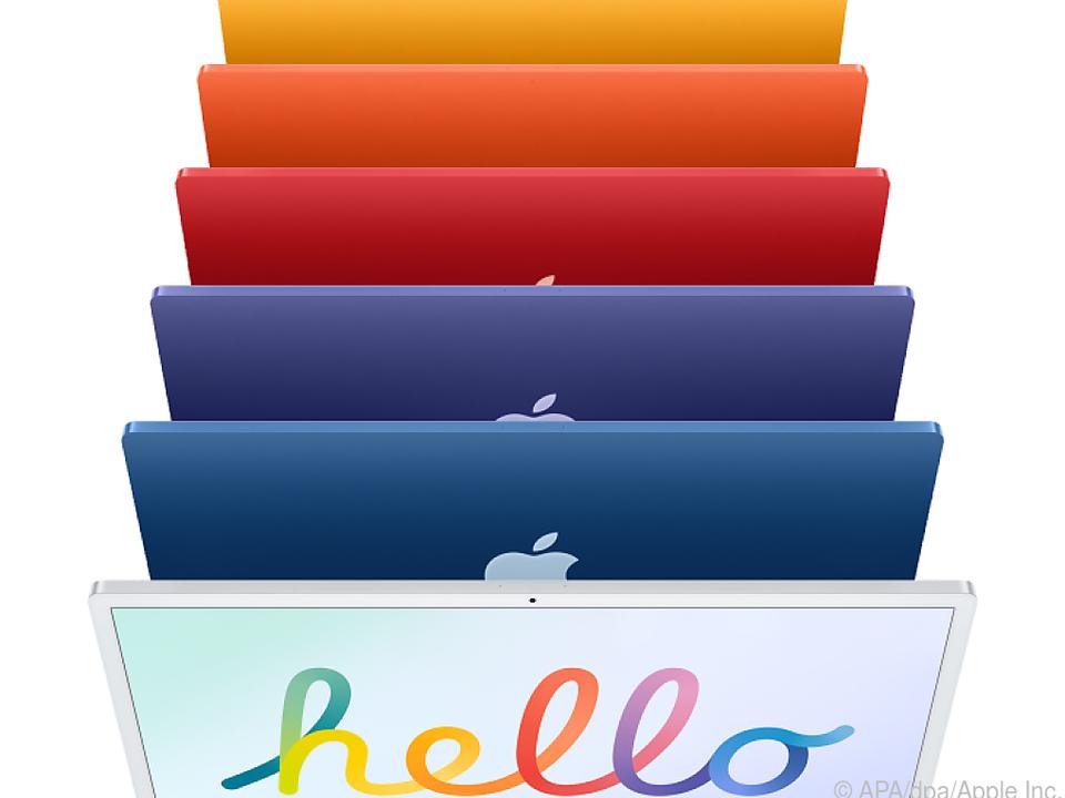 Neben dem Alu-Look gibt es nun noch sechs weitere Farbtöne