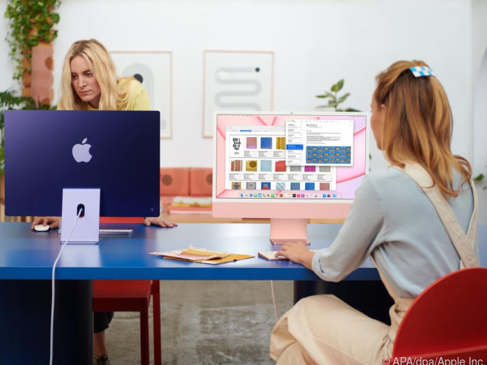 Apple geht mit dem neuen M1-iMac neue Wege
