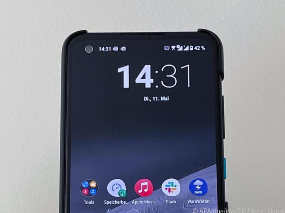 Das Zenfone 8 hat eine Bildschirmdiagonale von 5,9 Zoll