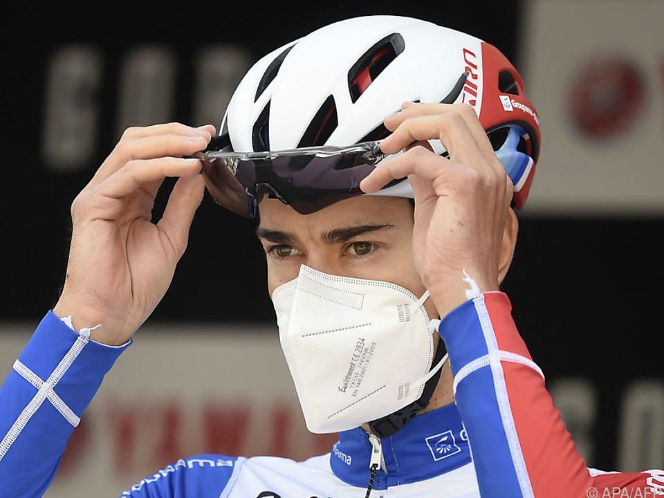 Attila Valter als erster Ungar Gesamtführender des Giro d\'Italia