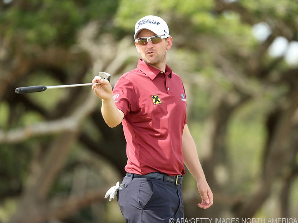 Bernd Wiesberger beim Training für das PGA Championship in Kiawah Island