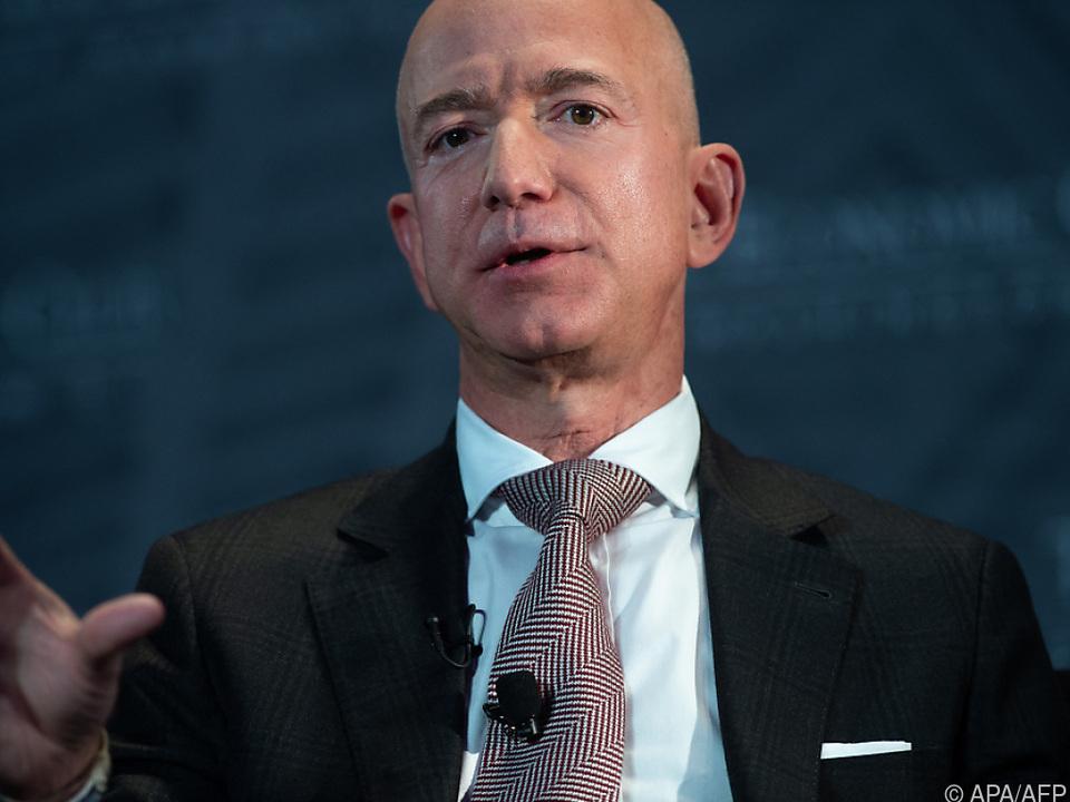 Bezos macht Amazon-Aktien zu Geld