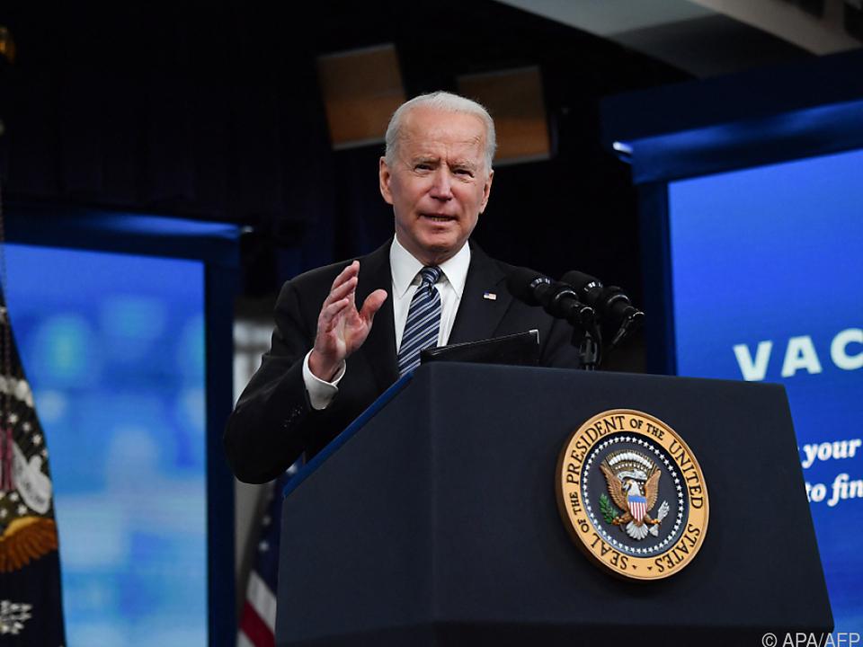 Biden sieht einen weiteren Meilenstein im Kampf gegen die Pandemie
