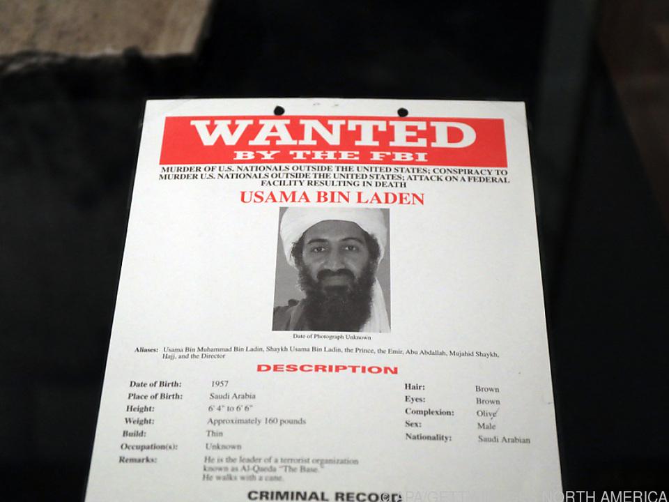 Bin Laden war der meistgesuchte Terrorist der Welt