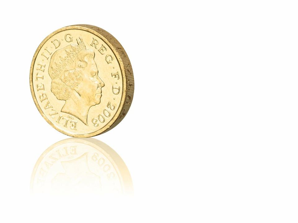 Münze Pfund