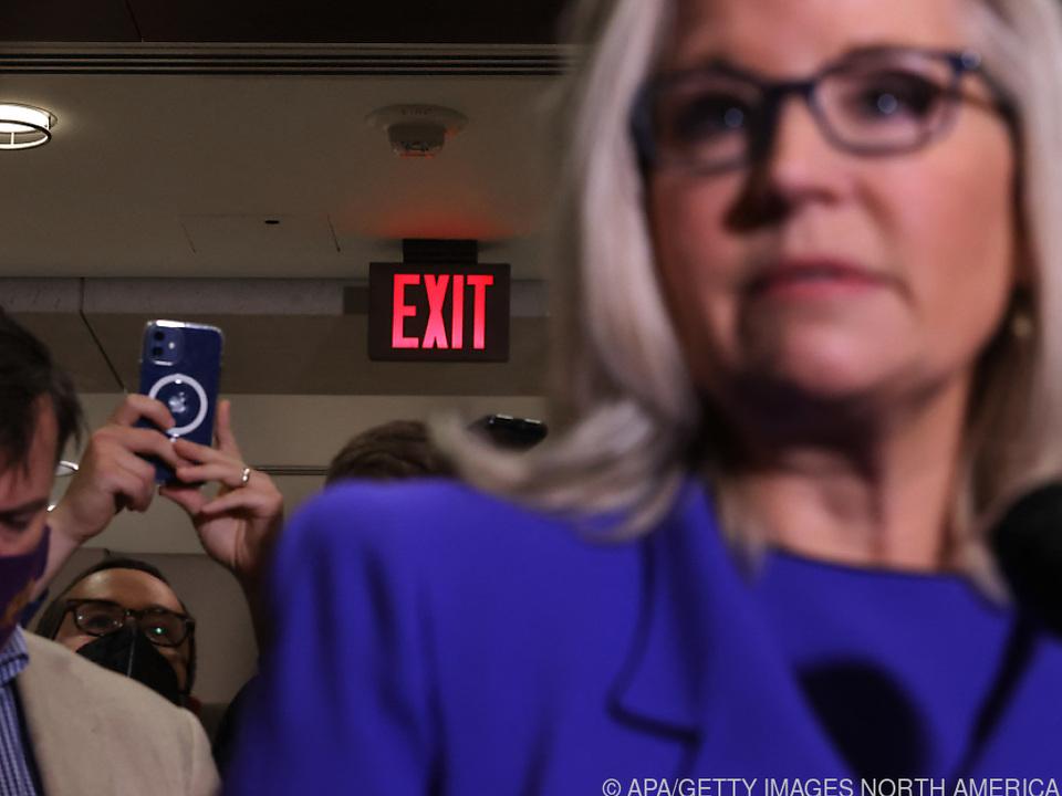 Cheney rausgeworfen