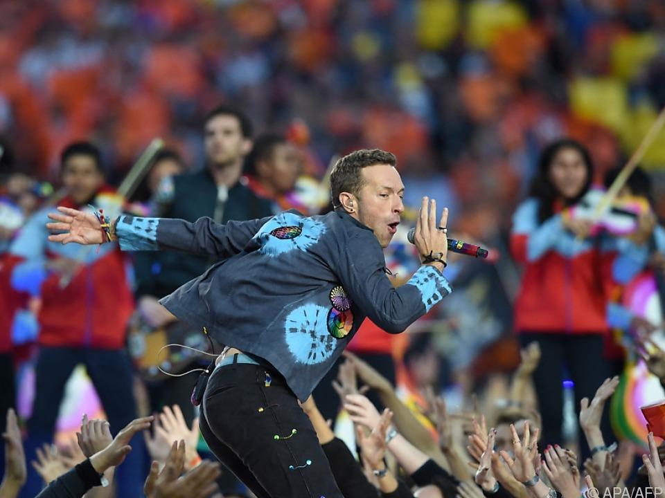 Chris Martin meldet sich mit Coldplay zurück