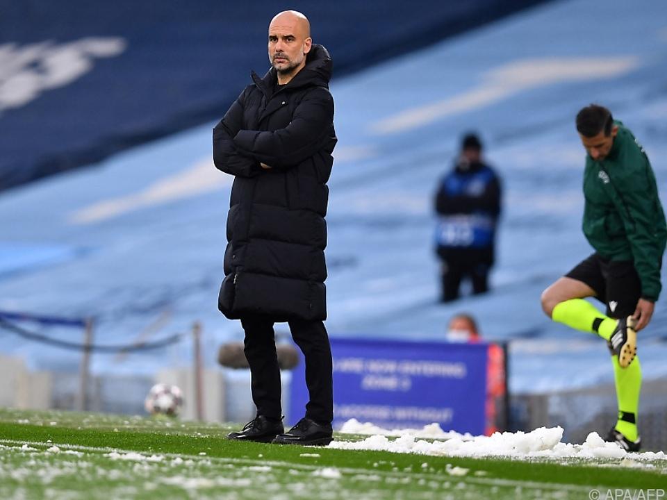 City-Erfolgscoach Guardiola hofft auf zwei weitere Titel im Mai