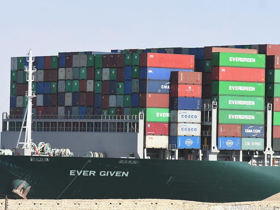 Containerschiff \