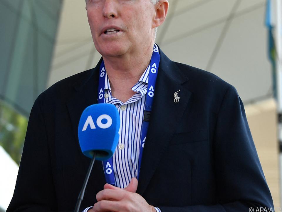 Craig Tiley will Australian Open 2022 in Melbourne halten