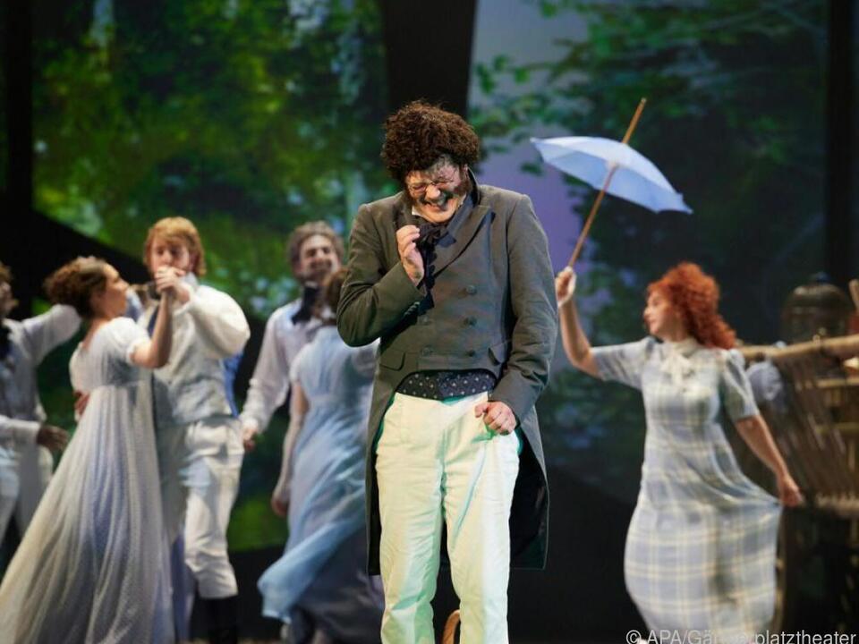 Daniel Prohaska leidet als Schubert in Johanna Doderers neuer Oper