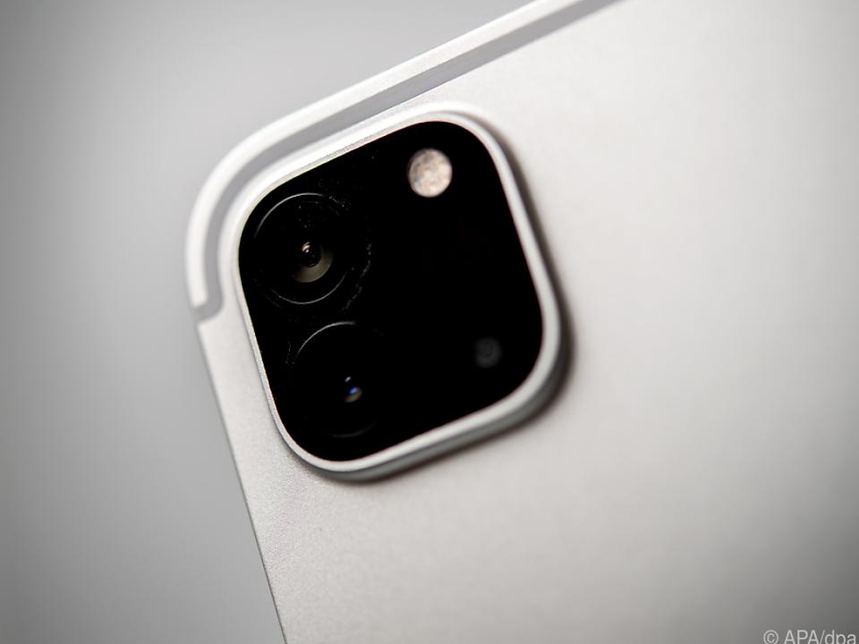 Zwölf-Megapixel-Kamera auf der Rückseite machte im Test gute Figur