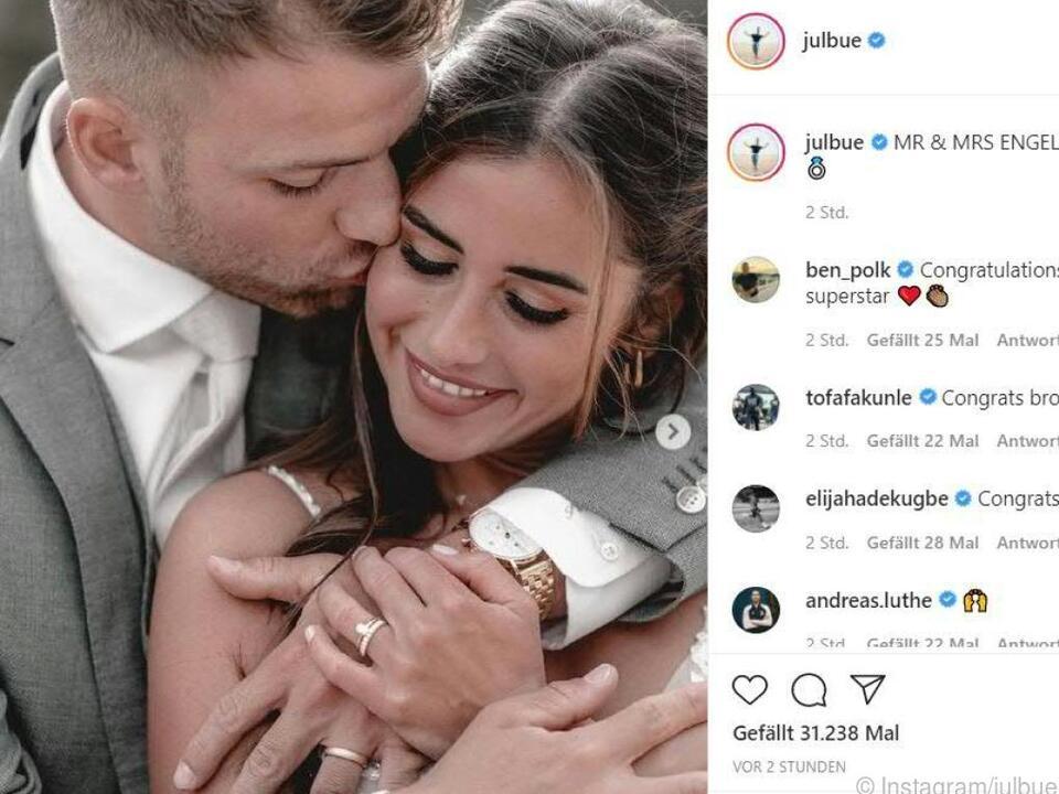 Das Paar hatte im November seine Verlobung bekannt gemacht