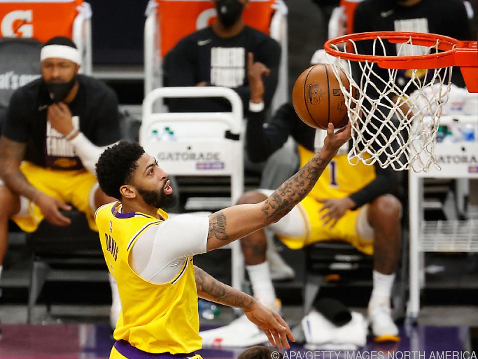 Davis war von Suns nicht zu stoppen