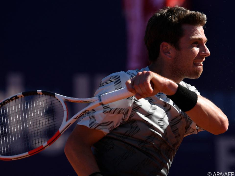 Der Brite Cameron Norrie ließ Dominic Thiem in Lyon keine Chance