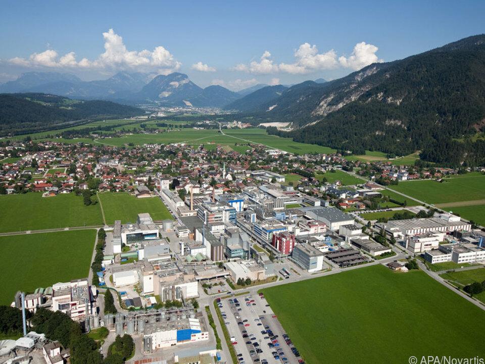 Der Novartis-Standort im Tiroler Kundl