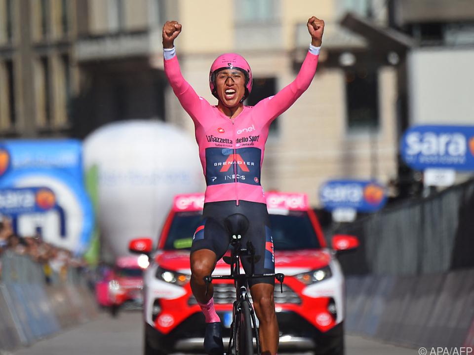 Der Sieger des 104. Giro d\'Italia heißt Egan Bernal