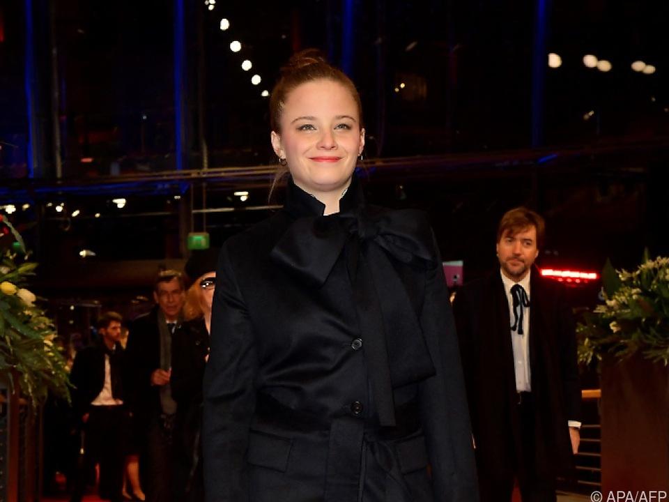 Die deutsche Schauspielerin Jasna Fritzi Bauer (32)